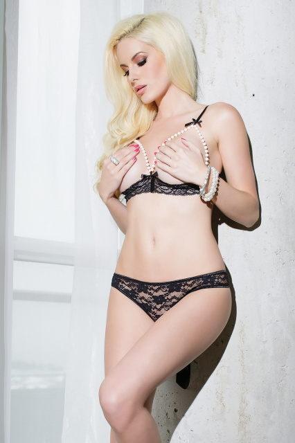 Coquette - Pearl Bra and Panty Set