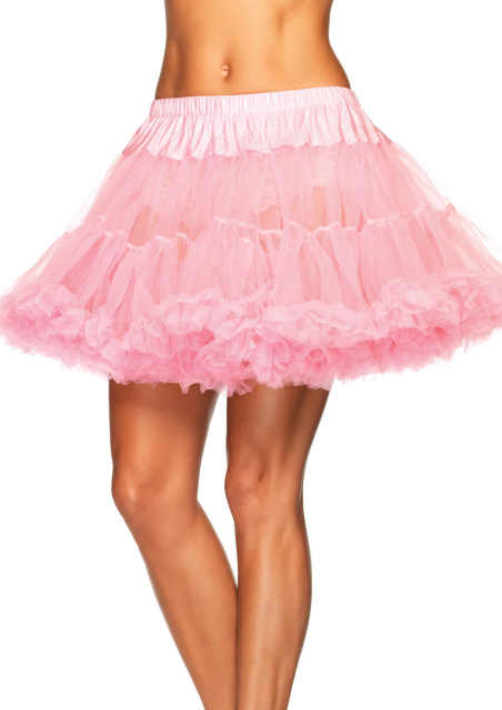 Layered Tulle Petticoat - Baby Pink