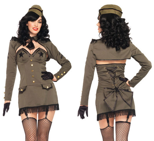 Pin-up Army Girl